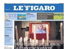 Le Figaro daté du 25 juillet 2017