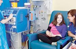 Les maladies du rein touchent aussi les enfants