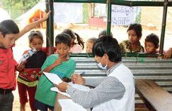 Avec la mousson, le Népal vit une crise sanitaire