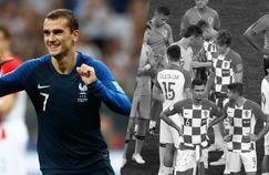 Tops/Flops France-Croatie : Griezmann taille patron, les Croates sans défense