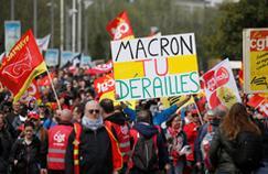 CGT : plus de 15.000 manifestants à Paris