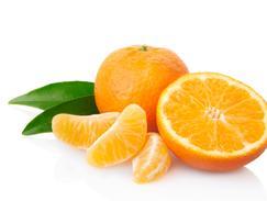 Mandarine et clémentine