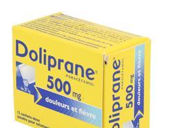 Doliprane 500 mg, poudre pour solution buvable en sachet-dose, boîte de 12 sachets-dose