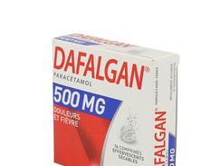 Dafalgan 500 mg, comprimé effervescent sécable, boîte de 16