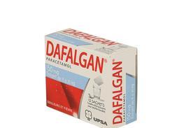 Dafalgan 150 mg, poudre effervescente pour solution buvable en sachet, sachets boîte de 12