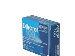 Difrarel 100 mg, comprimé enrobé, étui de 60