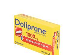 Doliprane adultes 1 000 mg suppositoire boîte de 8