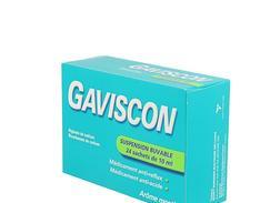 Gaviscon suspension buvable boîte de 24 sachets-doses de 10 ml