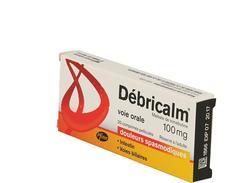 Debricalm gé 100 mg comprimé boîte de 20
