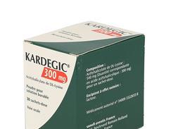 Kardegic 300 mg, poudre pour solution buvable en sachet, sachets boîte de 30
