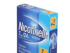 Nicotinell tts 7 mg/24 h, dispositif transdermique, boîte de 7