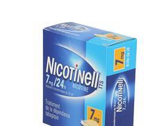 Nicotinell tts 7 mg/24 h, dispositif transdermique, boîte de 28