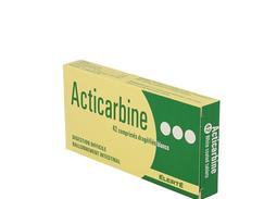 Acticarbine, comprimé enrobé, boîte de 42