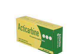 Acticarbine, comprimé enrobé, boîte de 84