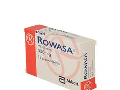 Rowasa 500 mg, suppositoire, boîte de 15