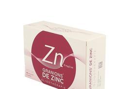 Granions de zinc 15 mg/2 ml solution buvable boîte de 30 ampoules de 2 ml