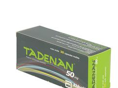 Tadenan 50 mg, capsule molle, boîte de 180