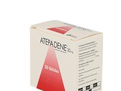 Atepadene 30 mg, gélule, boîte de 3 plaquettes thermoformées de 10