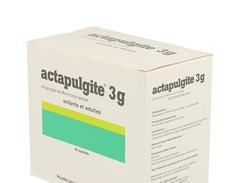 Actapulgite 3 g, poudre pour suspension buvable en sachet, sachets coffret de 60