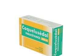 Coquelusedal paracetamol 500 mg, suppositoire, boîte de 12