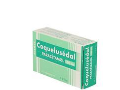 Coquelusedal paracetamol nourrissons, suppositoire, boîte de 12