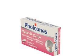 Pholcones bismuth enfants, suppositoire, boîte de 2 films thermosoudés de 4