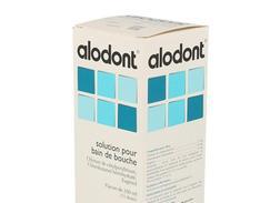 Alodont, solution pour bain de bouche, boîte de 1 flacon (+ godet-doseur) de 200 ml