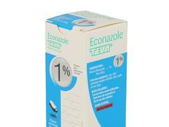 Econazole teva 1 pour cent, poudre pour application cutanée, flacon de 30 g