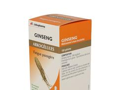 ArkogÉlules ginseng - gélule de ginseng.  - bt 150