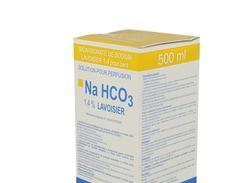Bicarbonate sodium lavoisier 1,4 % perfusion boîte de 1 flacon de 500 ml
