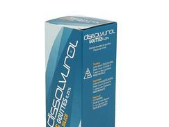 Dissolvurol 0,25 pour cent, solution buvable en gouttes, flacon (+ seringue pour administration orale) de 45 ml