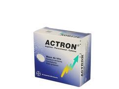 Actron, comprimé effervescent, boîte de 15 films thermosoudés de 2