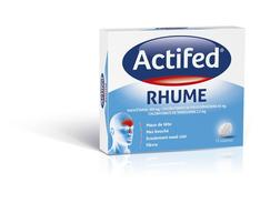 Actifed rhume, comprimé, boîte de 15