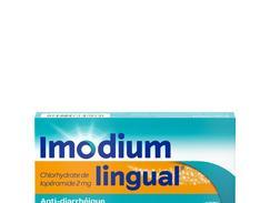 Imodiumlingual 2 mg, lyophilisat oral, boîte de 12