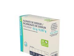 Alg/bicarb sod bgr 0,5g/0,267g suspension buvable sachets-doses de 10 ml