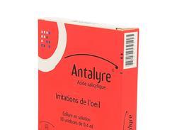 Antalyre collyre boîte de 10 récipients unidoses de 0,40 ml
