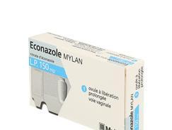 Econazole mylan l.p. 150 mg, ovule à libération prolongée, boîte de 1
