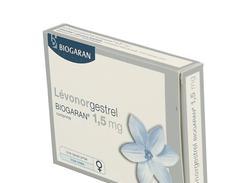 Levonorgestrel biogaran 1500 microgrammes, comprimé, boîte de 1