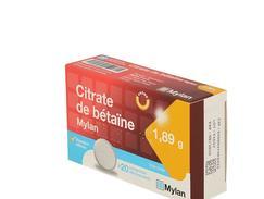 médicament citrate de bétaine