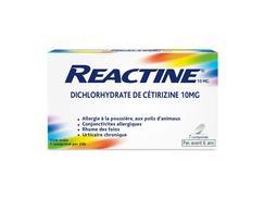 Actifed allergie cetirizine 10 mg, comprimé pelliculé sécable, boîte de 7