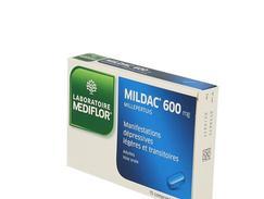 Mildac 600 mg, comprimé enrobé, boîte de 15