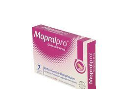 Mopralpro 20 mg, comprimé gastro-résistant, boîte de 1 film thermosoudé de 7