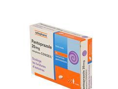 Pantoprazole ratiopharm conseil 20 mg, comprimé gastro-résistant, boîte de 14