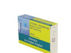 Cystine / vitamine b6 biogaran conseil 500 mg/50 mg, comprimé pelliculé, boîte de 60