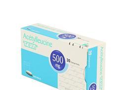 Acetylleucine teva 500 mg, comprimé, boîte de 30