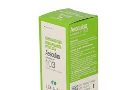 Aesculus complexe n°103, solution buvable en gouttes, flacon compte-gouttes de 30 ml