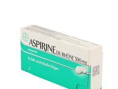 Aspirine 500mg rhone cpr 30