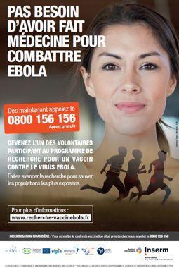 L'affiche diffusée pour la campagne de recrutement.