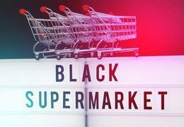 Supermarché arty