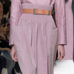 desfile detalhe Hermès Primavera-Verão 2017 Paris - Detalhe 5.